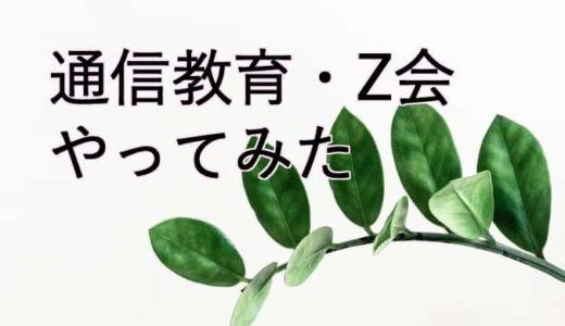 【幼児教育Z会】毎日いろんなことを体験できる通信教育Z会をやってみた・口コミ